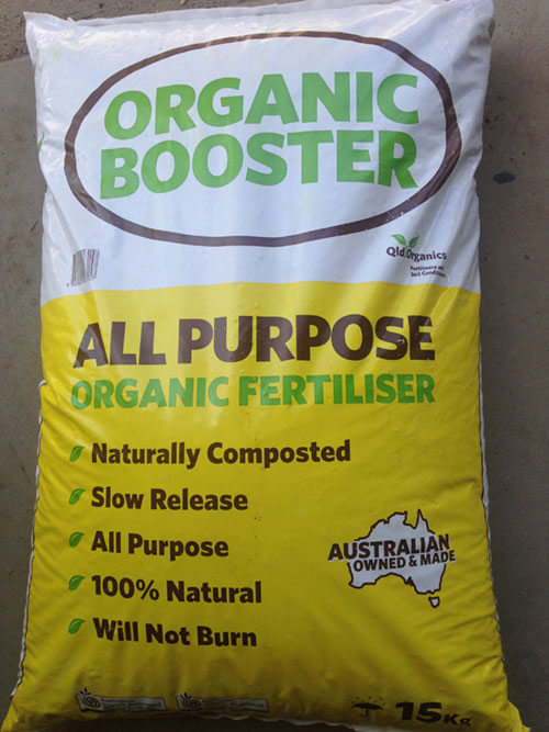 Organic Booster – 15kg Bags